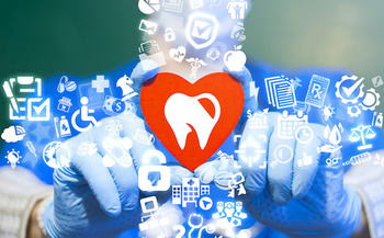 Oral health is linked to heart health and chronic diseases like diabetes. (wladimir1804/Adobe Stock)