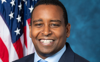 U.S. Rep. Joe Neguse, D-Colo., says the state's 30 federally funded research labs and joint institutes on climate science are poised to help the nation achieve net-zero emissions by 2050. (Franmarie Metzler/Wikimedia Commons)