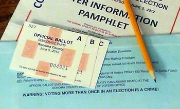 Applications for absentee ballots are being held up in Massachusetts due to funding issues. (Flickr_1/Adobe Stock)