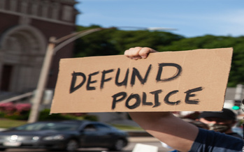 A new Monmouth University poll found 77% of respondents believe that activists calling for police overhauls don't actually mean getting rid of law enforcement altogether. (Adobe Stock)<br />