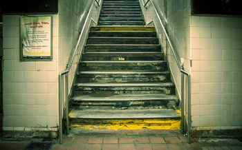 Thirty years after passage of the Americans with Disabilities Act, only 25% of New York City subway stations are wheelchair accessible. (littleny/Adobe Stock)