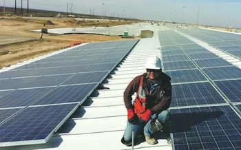 The solar industry has been hit hard by COVID-19, but systems purchased and installed in New Mexico before Dec. 31, 2027, are eligible for a 10% tax credit. (riograndesierraclub.org)