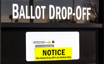 Groups are challenging a lawsuit that seeks to stop voters from using secure drop boxes to cast their ballots. (Claudia Wizner/Adobe Stock)