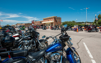 Smaller crowds are expected this year, but an estimated 250,000 people still are expected to attend the annual Sturgis motorcycle rally in South Dakota as the pandemic continues. (Adobe Stock)