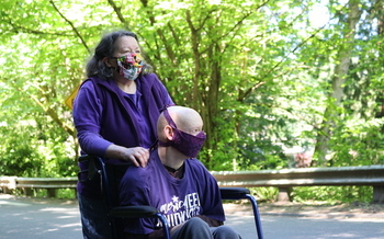Caregivers in Washington state were able to secure an additional $2.56 an hour in hazard pay for July, August and September. (SEIU 775)