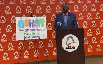 Les Johnson with ARCHS helped to create the STL Neighborhood Healing Network, which officially launches next week. (ARCHS)