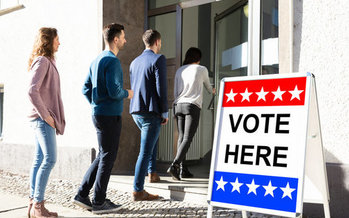 A new training and recruitment program for Massachusetts poll workers incorporates input from town clerks across the state. (Andrey Popov/Adobe Stock)