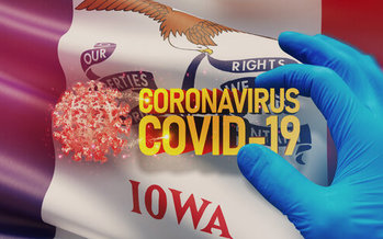 Since the pandemic began, Iowa has seen nearly 70,000 positive coronavirus cases. (Adobe Stock)