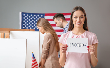 Millennials and Generation Z make up 40% of the voting population. (Pixel-Shot/Adobe Stock)
