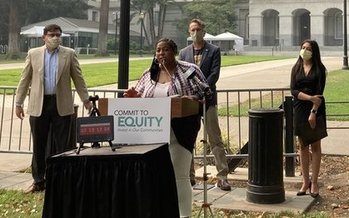Supporters of higher taxes on the wealthy are now calling for a special session this fall. A vigil planned for Monday night was canceled out of respect for the Black Lives Matter movement. (Anthony Matthews)