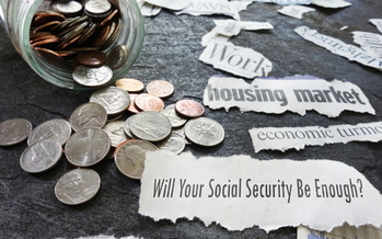 Nearly 75% of Americans in the latest AARP survey are worried that Social Security will run out of money by the time they retire. (Adobe Stock)