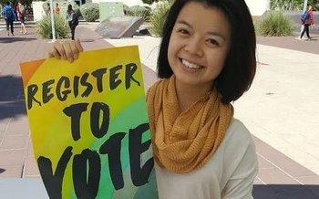 Online voter registration in Connecticut is open until Oct. 27. (AZ Pirg)