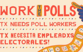 En Texas se hacen reclutamientos electorales a los trabajadores, preparándose para la Elección de noviembre.