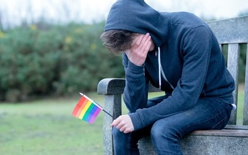 Studies have shown that people who identify as LBGTQ often must deal with discrimination and social stigma, which can lead to a high rate of mental-health concerns. (Ben Gingell/Adobe Stock)