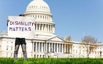 Ohio voters with a disability represent an estimated 17.5% of the electorate. (AdobeStock)