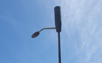 Thousands of 5G cell service antennae are popping up on light poles across the nation, prompting health concerns among some. (Noah Davidson)