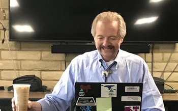 William Perry Pendley on a visit to BLM field offices in Colorado last month. Pendley was nominated in July to become permanent director of the agency, but opposition forced the Trump administration to withdraw his name. (BLM)