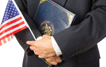USCIS said it naturalized 834,000 new citizens in 2019, which represents an 11-year high in new oaths of citizenship. (Adobe Stock)<br />