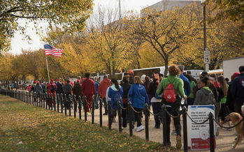 The 2019 Greater Washington Heart walk was held in D.C., but this year's effort will be held virtually to maintain social distancing during the pandemic. (American Heart Association)