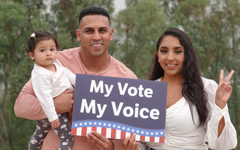 Heading into 2020, a record 32 million Latinos were projected to be eligible to vote in the United States. (Adobe Stock)