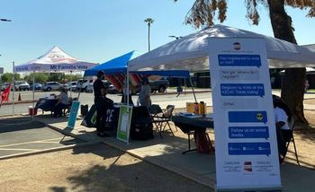 Volunteers with OneArizona helped thousands of Arizonans register to vote during the spring and summer, and are re-contacting them before Election Day to make sure they have a plan to cast their ballot. (OneArizona)<br />