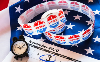 Election Day is less than a week away, but it could take longer for results to come in. (Joaquin Corbalan/Adobe Stock)