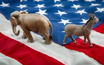 Some researchers say political polarization has increased since the 2016 election. (AdobeStock)