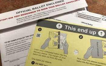 Virginia's ballot this election includes a constitutional amendment for a bipartisan redistricting commission. (C. Thomas/Public News Service)