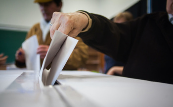 Kentucky Secretary of State Michael Adams says after counting early in-person votes and absentee ballots requested, Kentucky is already at 84% of its total voter turnout in 2016. (Adobe Stock)<br />