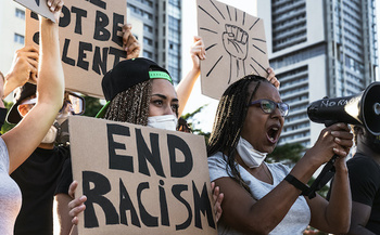 Volunteers for an event to defend the results of the 2020 election say electoral justice is racial justice. (Alessandro Biascioli/Adobe Stock)