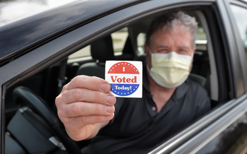 In addition to Johnson County, Iowa's Linn County also offered the option for people to vote from their cars in 2020. (Adobe Stock)