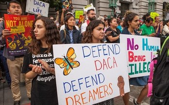 Nevada is home to more than 12,000 DACA recipients, and more than 250,000 Nevadans live with at least one undocumented person. (Wikimedia Commons)