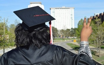 A new report says states should prioritize higher-ed programs that support low-income students of color, a population that has suffered disproportionately in the pandemic. (A.C. Taylor, Jr.)