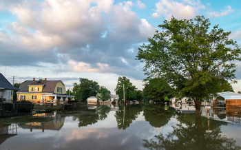 Climate change is causing increased rain and more frequent flooding in Pennsylvania. (jsnewtonian/Adobe Stock)