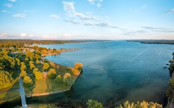 Owasco Lake is the source of drinking water to more than 50,000 New Yorkers. (Miguel/Adobe Stock)