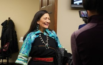 U.S. Rep. Deb Haaland, D-N.M., would be the first Native American to serve as a Cabinet Secretary if she confirmed as Secretary of the Interior. (Wikimedia Commons)