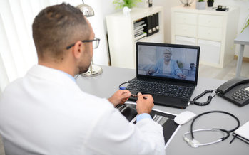 According to the Centers for Disease Control and Prevention, there was a 154% increase in telehealth visits during the last week of March in the United States, as the pandemic unfolded. (Adobe Stock)
