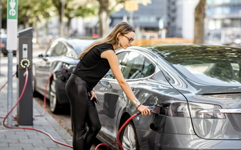 Availability of electric vehicles at new-car dealerships were up-to 54% lower in Virginia cities than in neighboring Maryland, according to a new report. (Adobe stock)