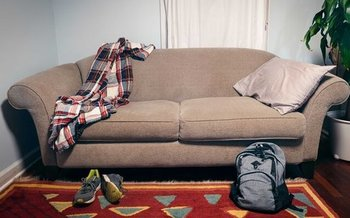 A new survey finds almost 7,800 people younger than 25 in Connecticut were on the streets or couch surfing with friends or relatives in 2020. (Allan Vega/CCEH)