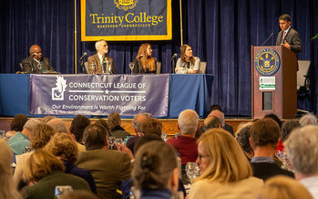 Unlike prior years, the 2021 environmental summit will he held online. (Connecticut League of Conservation Voters)