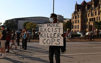Between 2009 and 2019, 132 people were killed by police and 47 others died in police custody in the St. Louis area. (Wikimedia Commons)