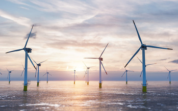Wind has the potential to support over 600,000 jobs in manufacturing, installation, maintenance and supporting services by 2050, according to the U.S. Dept. of Energy. (Adobe Stock)<br />