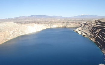 Mining, the third-largest water-use sector in Nevada, takes up about 7% of the state's water withdrawals. (Wikimedia Commons)