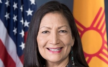 If confirmed, New Mexico Representative Deb Haaland would be the first-ever Native American cabinet secretary. (Wikimedia Commons)