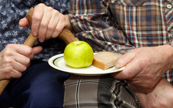 A new report says last year, Minnesotan seniors accounted for more than half a million food shelf visits. (Adobe Stock)