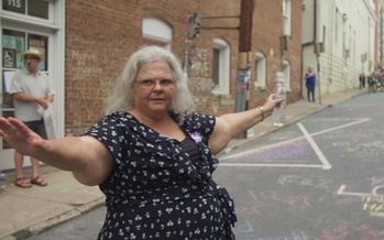 Susan Bro started the Heather Heyer Foundation to fight for social justice in honor of her daughter, who died during a 2017 protest against white supremacists. (Ben Rekhi)