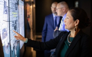 U.S. Rep. Deb Haaland, D-N.M., could be the first Native American to serve as a Cabinet secretary if she is confirmed to lead the Department of the Interior. (Wikimedia Commons)