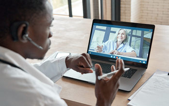 Groups like AARP Wisconsin say Governor Evers' plan for more broadband spending could pave the way for more telehealth visits. (Adobe Stock)
