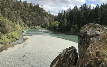 The South Fork Trinity River is one of many places that would receive greater protections under a new wilderness bill passed by the U.S. House of Representatives. (Jeff Morris/Pew Environment Group)