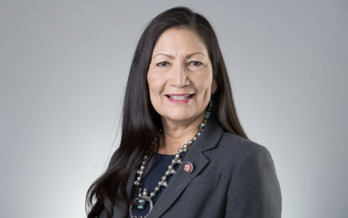 In addition to her historic role in President Joe Biden's Cabinet, Rep. Deb Haaland, D-N.M., made history in being one of the first two Native American women elected to Congress in 2018. (House.gov)